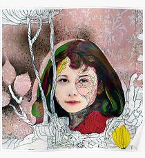 portrait of Gracie::no.3 Poster