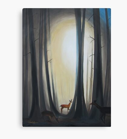 The Light of Life Canvas Print
