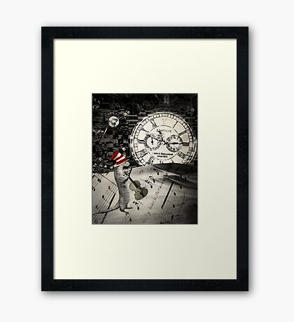 Uninvited... Framed Print