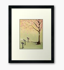 Abby's tree Framed Print