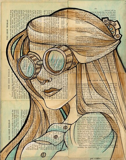 The Iron Woman 1 by Karen  Hallion