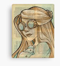 The Iron Woman 1 Canvas Print