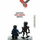 "DISTRICT 9 ""Support Non-human rights""  by Shobrick"