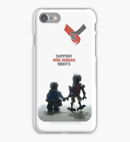 "DISTRICT 9 ""Support Non-human rights""  iPhone Case/Skin"