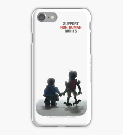 "DISTRICT 9 ""Support Non-human rights"" 2 iPhone Case/Skin"
