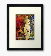 ROSEBUD The Angel of Sweet Songs Framed Print