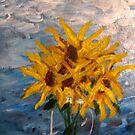 7 Sunflowers by Ashley Huston