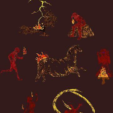 Pyroglyphics by delosangeles
