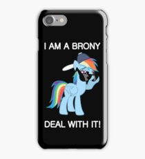Rainbow Dash Brony iPhone Case/Skin