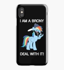 Rainbow Dash Brony iPhone Case
