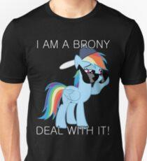 Camiseta ajustada Rainbow Dash Brony