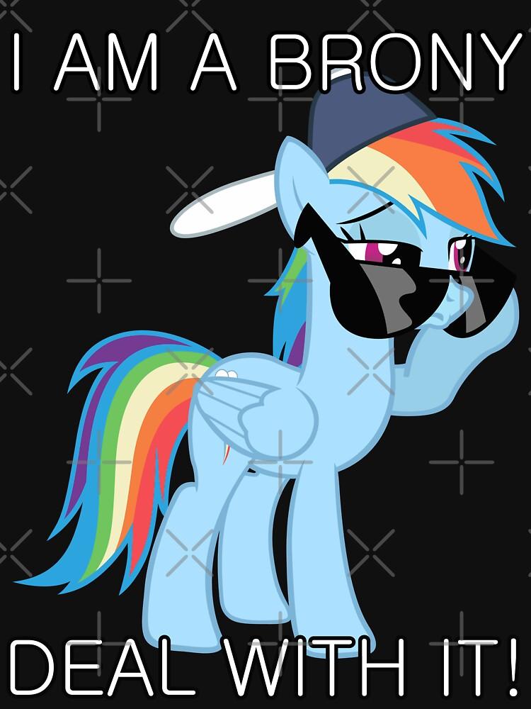 Rainbow Dash Brony by Kuzcorish