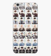 BTS/Bangtan Sonyeondan - Checkered Photos iPhone Case