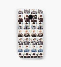 BTS/Bangtan Sonyeondan - Checkered Photos Samsung Galaxy Case/Skin