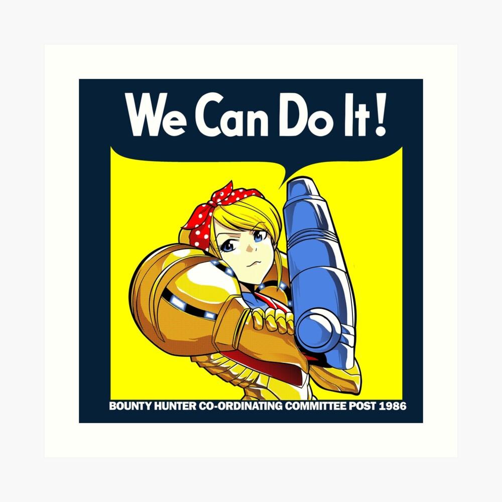We can do it! Kunstdruck