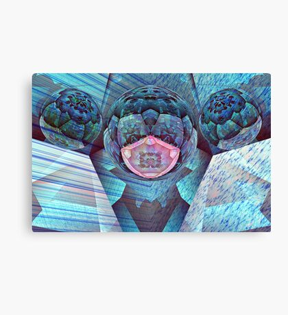 Harmony in Blue Canvas Print