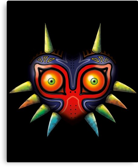 Majora's Mask (Zelda) by nipponolife