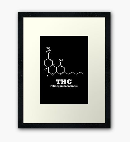 The Happy Chemical Framed Print