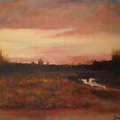 Sunset-Outside of Paris from Luigi Loir, Circa,1895 by Jsimone