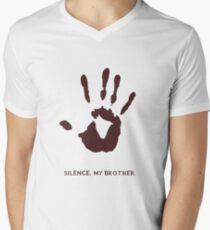 Dark Brotherhood: Silence, my brother Mens V-Neck T-Shirt