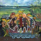 Mola Me - Caribbean Sea by F.A. Moore
