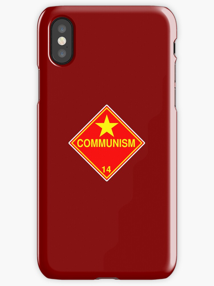 Communism: Hazardous! by glyphobet