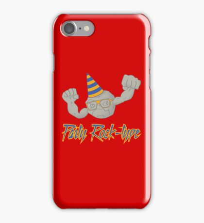 Party Rock-type iPhone Case/Skin
