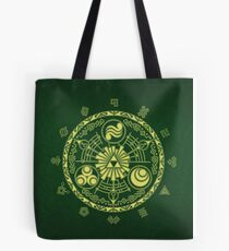 Zelda Triforce Art Logo Tote Bag