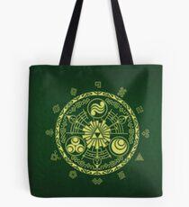 Zelda Triforce Art Logo Tote Bag