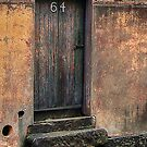 Four Steps & A Wooden Door by Eve Parry
