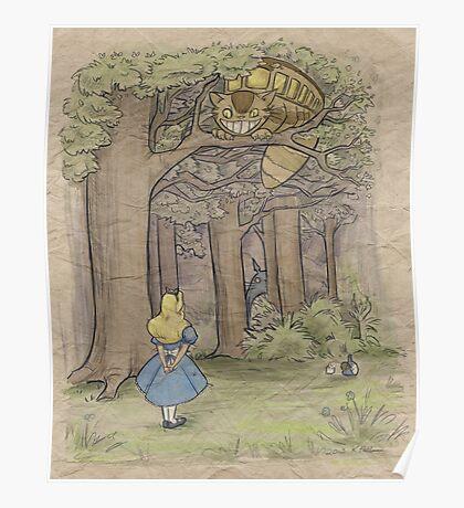 My Neighbor in Wonderland Poster