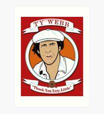 Caddyshack - Ty Webb Art Print