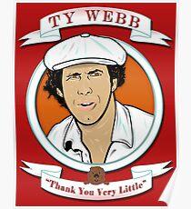 Caddyshack - Ty Webb Poster