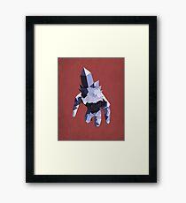 Crystal Golem Framed Print