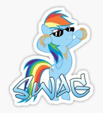 Rainbow Swag Sticker