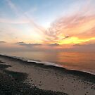 Sunrise at Scroby sands Wind farm  by Gary Rayner