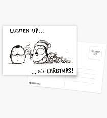 Lighten Up, It's Christmas! Postcards