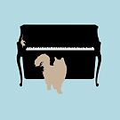 Cat and Mouse on Piano by CatAstrophe