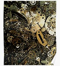Timepiece Cogs  Poster