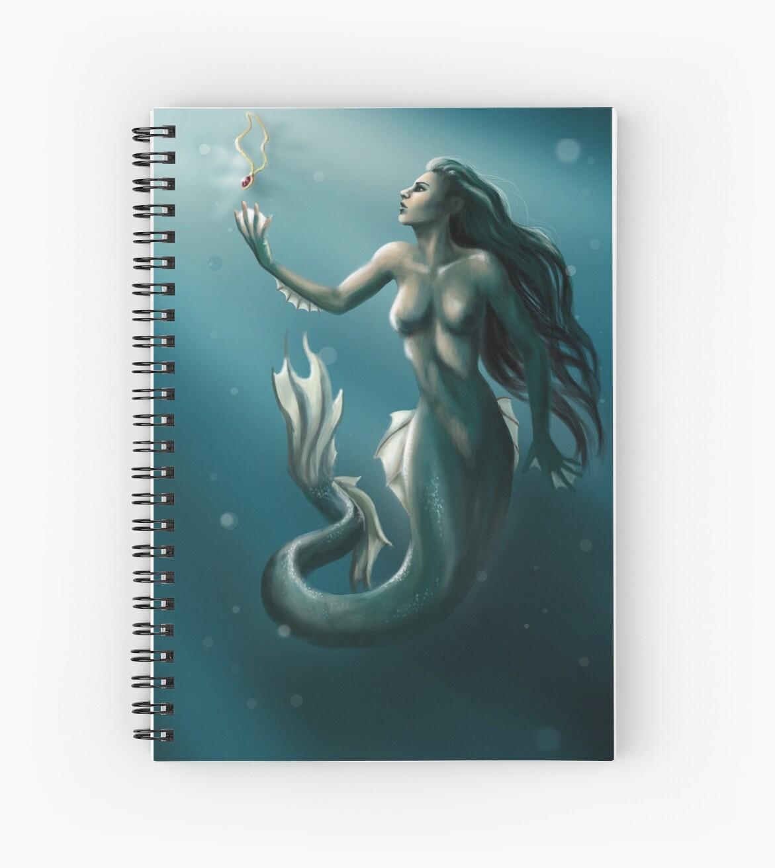 The Dark Siren by Ewelina Pieńkos