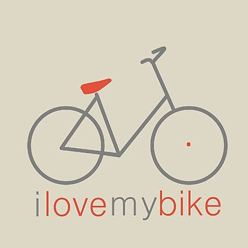 I love my bike by MonsterCrossing