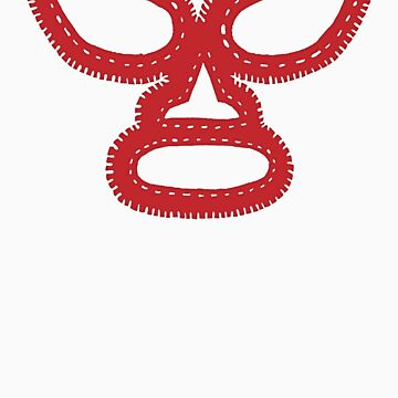 Lucha Libre Mask by Husher