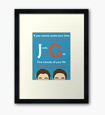 JacksGap Theme Song Framed Print