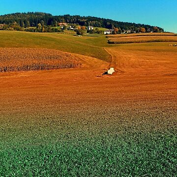 Colorful farmland scenery | landscape photography by patrickjobst