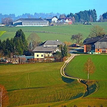 Beautiful traditional farmland scenery II | landscape photography by patrickjobst