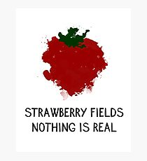 Strawberry Fields Photographic Print