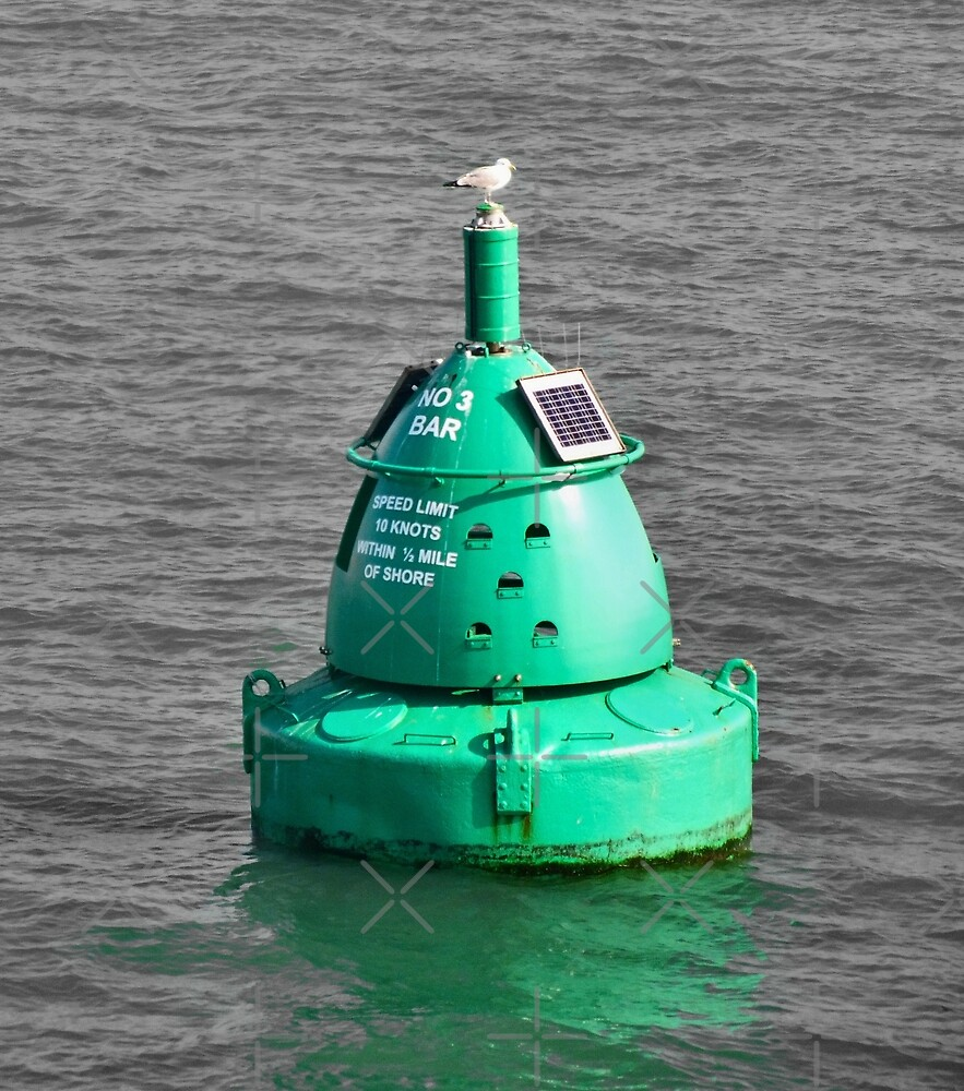 Green Buoy by Yampimon
