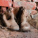 These boots were made for working by David Haworth