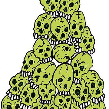 Green Skulls by SHyde