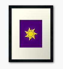 Tangled Sun Framed Print